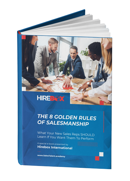 The 8 golden rules of salesmanship book