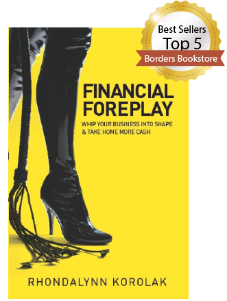 Book financial foreplay